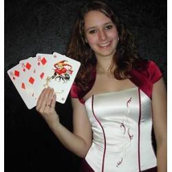 3 korttrick med 4 kort