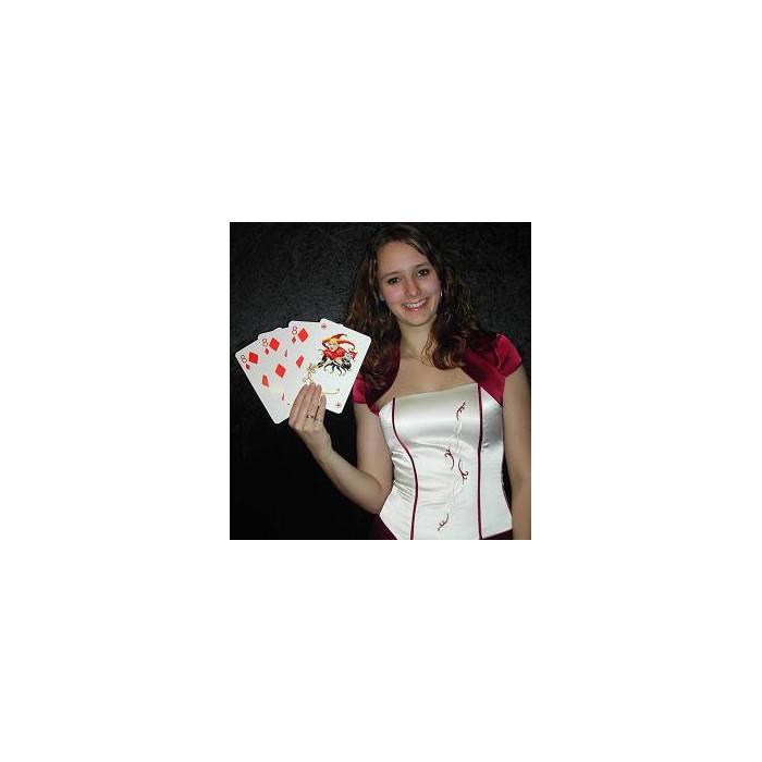 3 kort trick med 4 kort