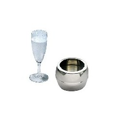 Atomic Water Vase - Steel