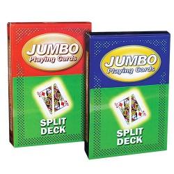 Jumbo kort - Split Deck