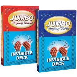 Jumbo kort - Invisible Deck
