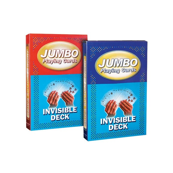 Jumbo kort - Invisible Deck