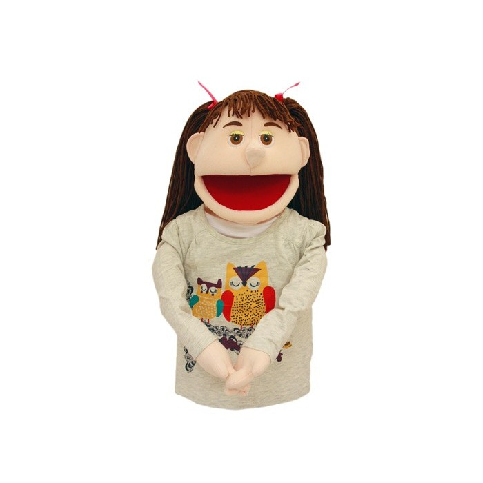 Hånddukke Rebecca