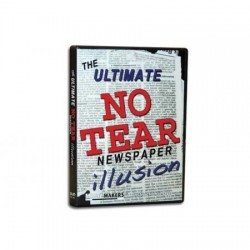Ultimate No Tear Newspaper Illusion DVD