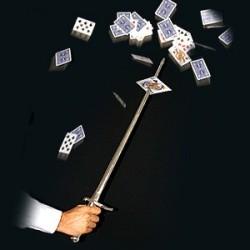 Sword Thru Card
