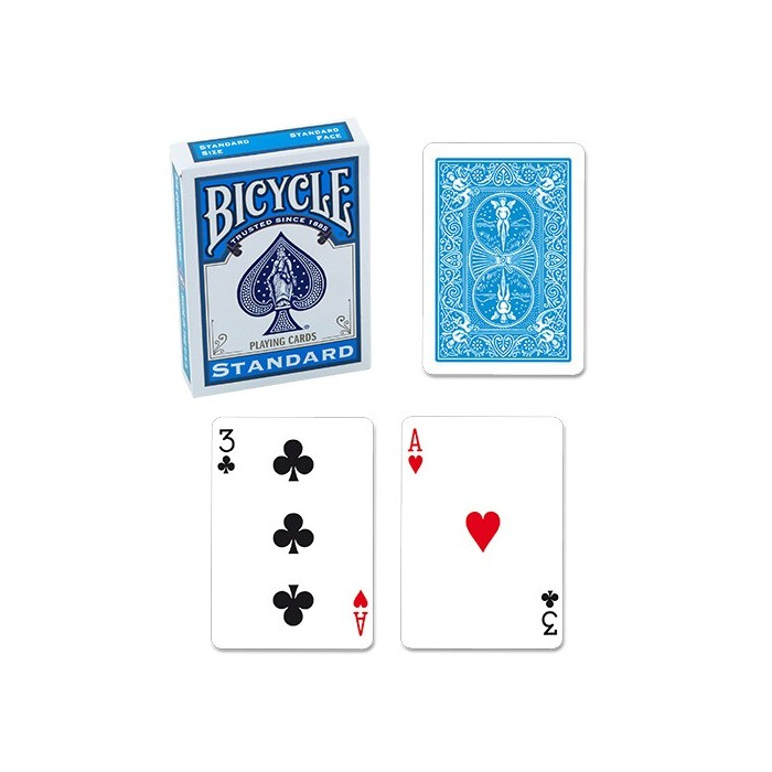 Bicycle Poker Deck - Turquoise Deck
