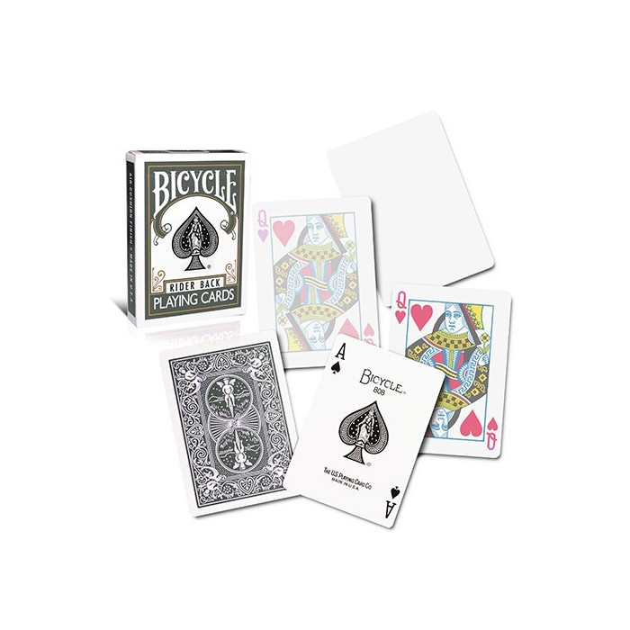 Bicycle Poker Deck - Grey Back