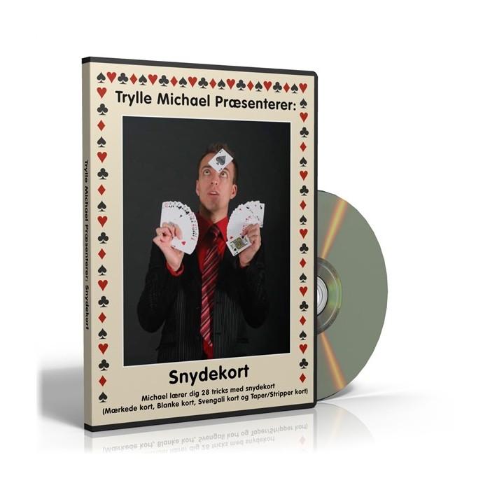 Snydekort DVD og 3 kortspil