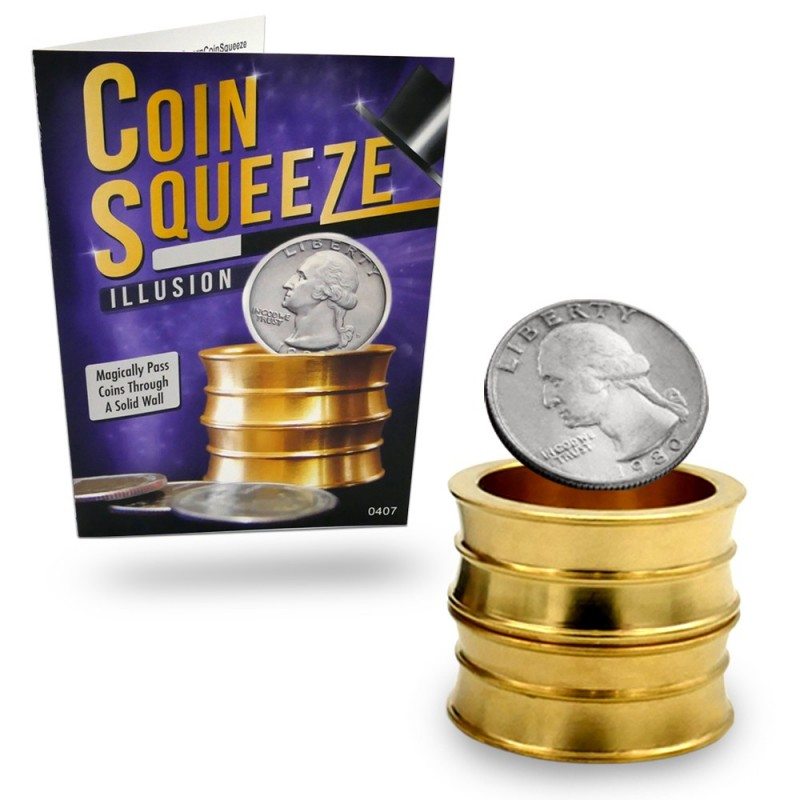 the magical coin Here are easy magic tricks that you can perform with coins and money that are perfect for beginners.