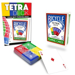 Tetra Deck Bicycle - 4 Way Fanning Deck