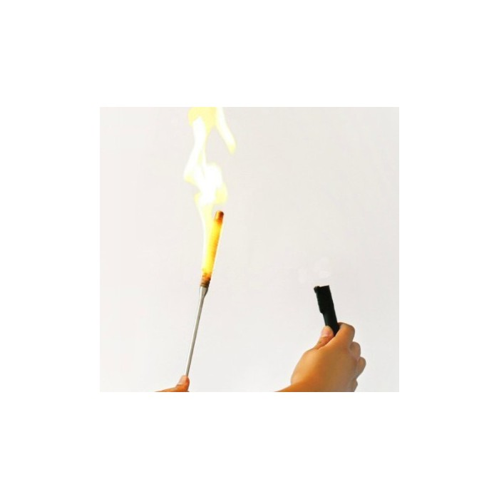 Flaming Torch for Appearing Cane