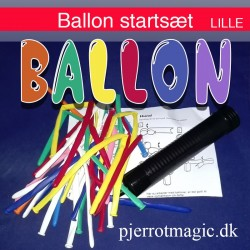 Figurballoner - startsæt lille