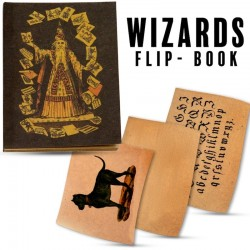 Wizard's Flip Book