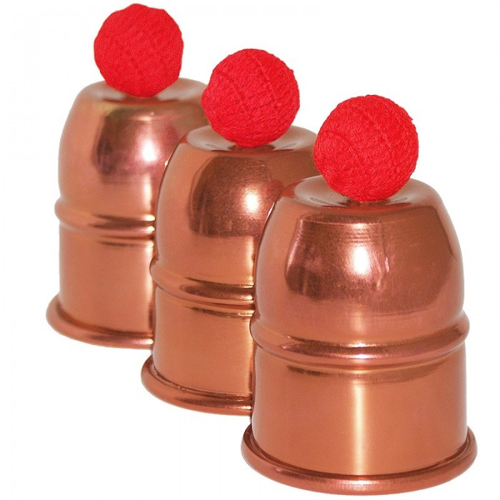 Cups and Balls - copper