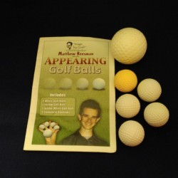 Appearing Golf Balls