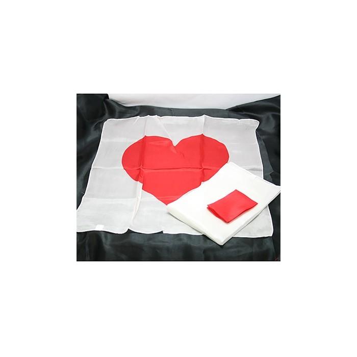Hjerte tørklædesæt