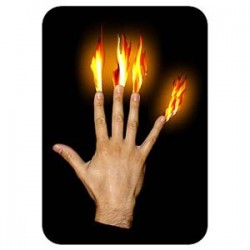 Flames at Fingertips