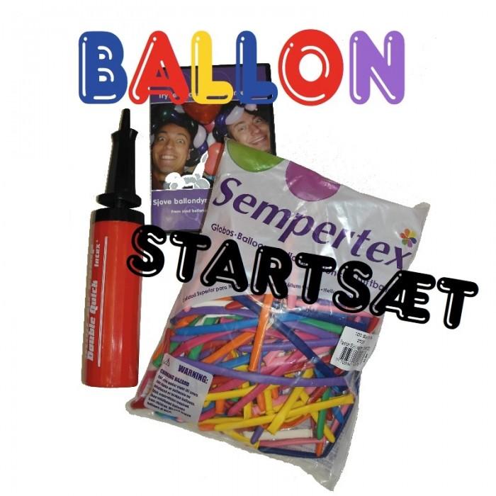 Figurballoner - startsæt