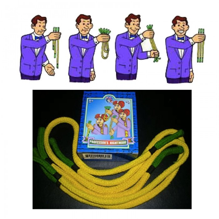 Professorens mareridt gul/grøn