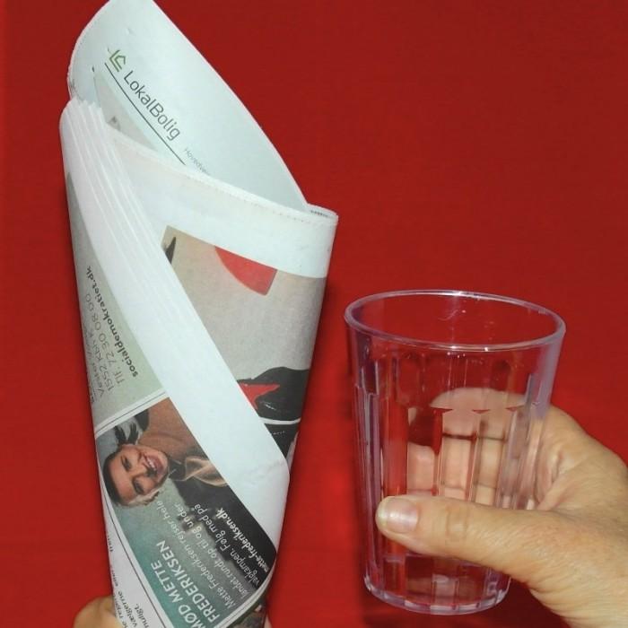 Glasset I Avisen