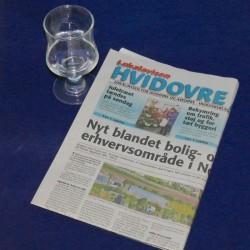 Vand i avisen