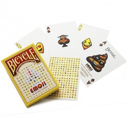 Bicycle - Emoji Playing Cards