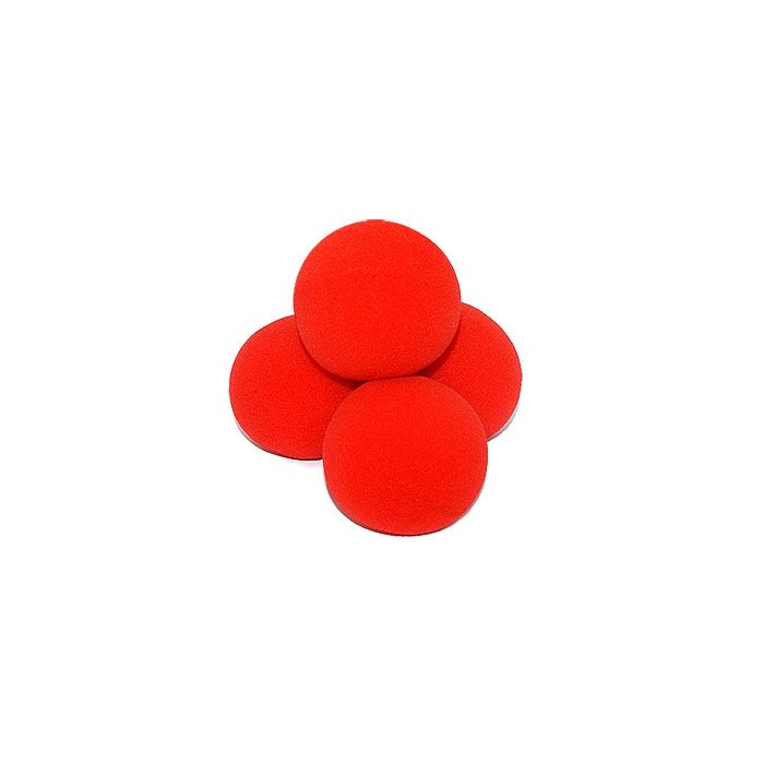 Sponge Balls Super Soft 70 mm 4 stk