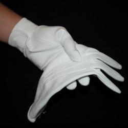 Hvide handsker, bomuld