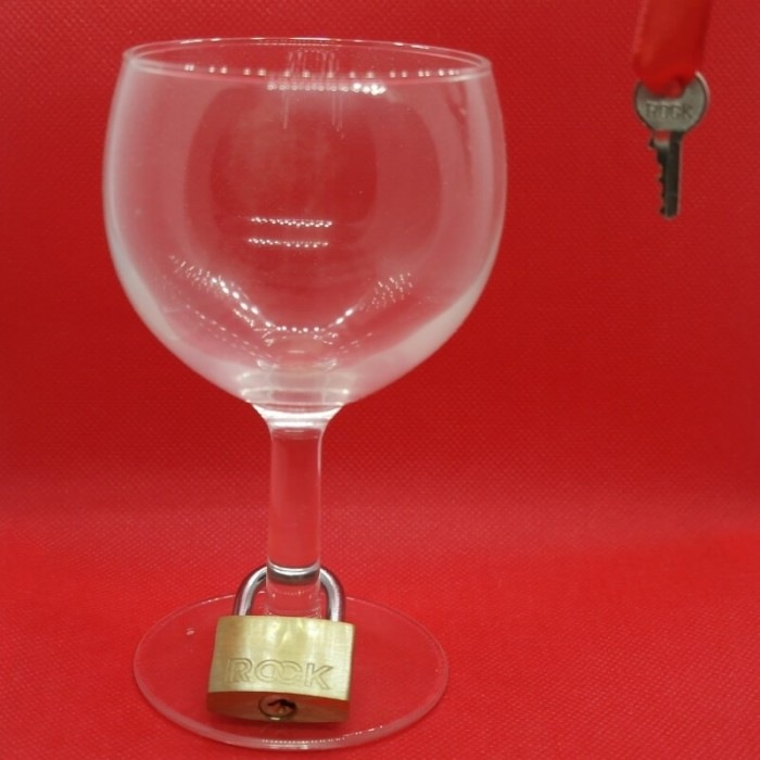 Padlock, Glass and Key Mystery
