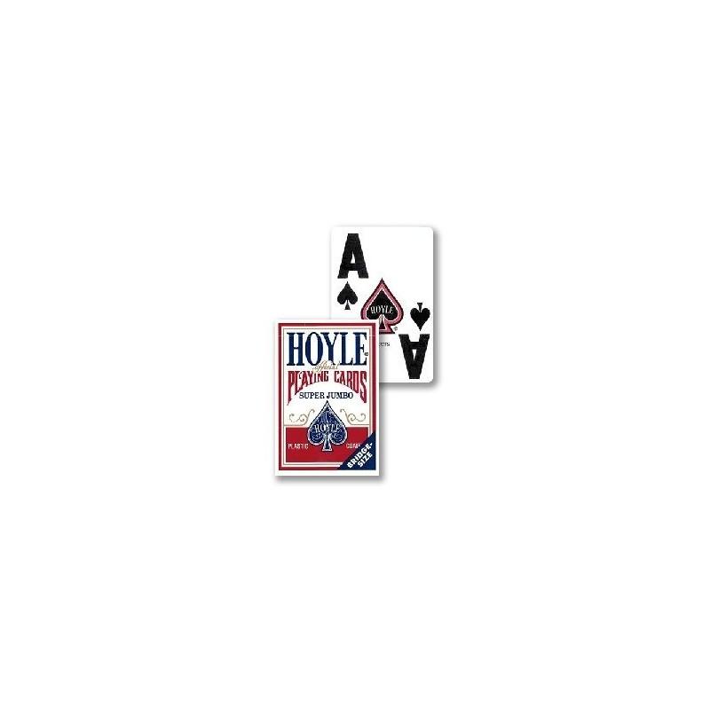 Hoyle Super Jumbo Red Pjerrot Magic