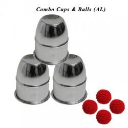 Combo Cups & Balls Aluminium