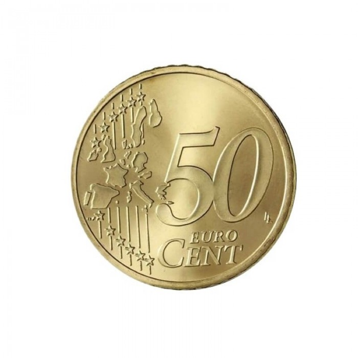 Expanded shell coin - 50 Euro cents
