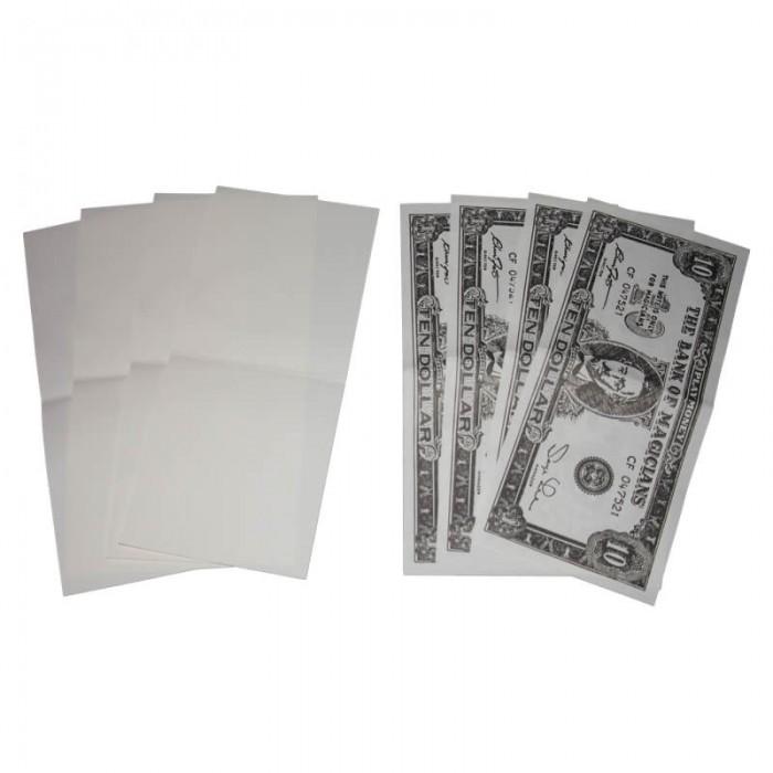 Blankt papir til penge