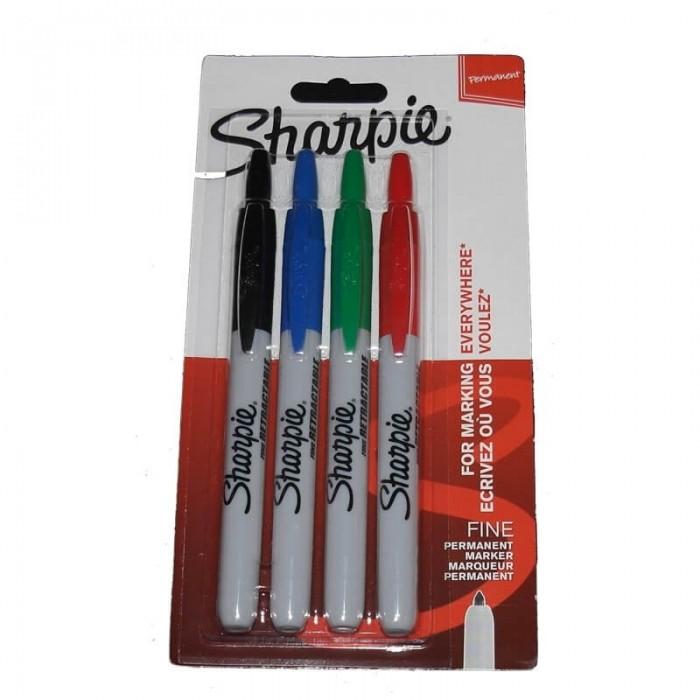 Sharpie Click - sæt med 4 stk.