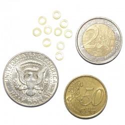Elastikker til mønter