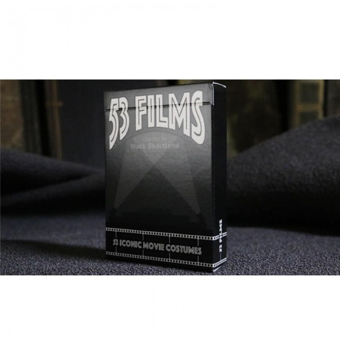 53 Films Playing Cards - Mark Shortland