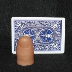 Tommelfinger - hård plastik senior