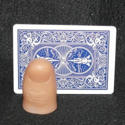 Tommelfinger - hård plastik XXL