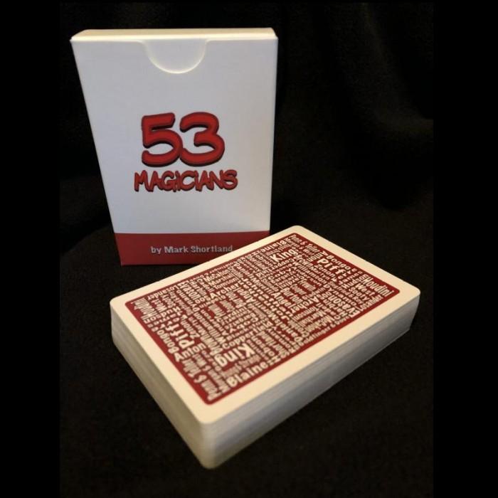 53 Magicians Playing Cards - Mark Shortland