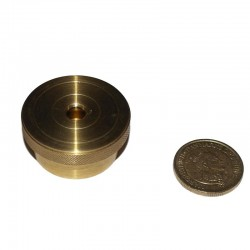 Brass Coin Safe