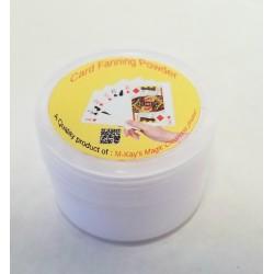 Card Fanning Powder - kort-pulver