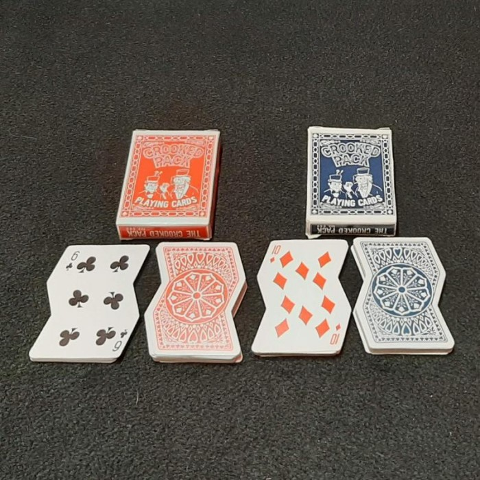 Crooked Pack of Playing Cards