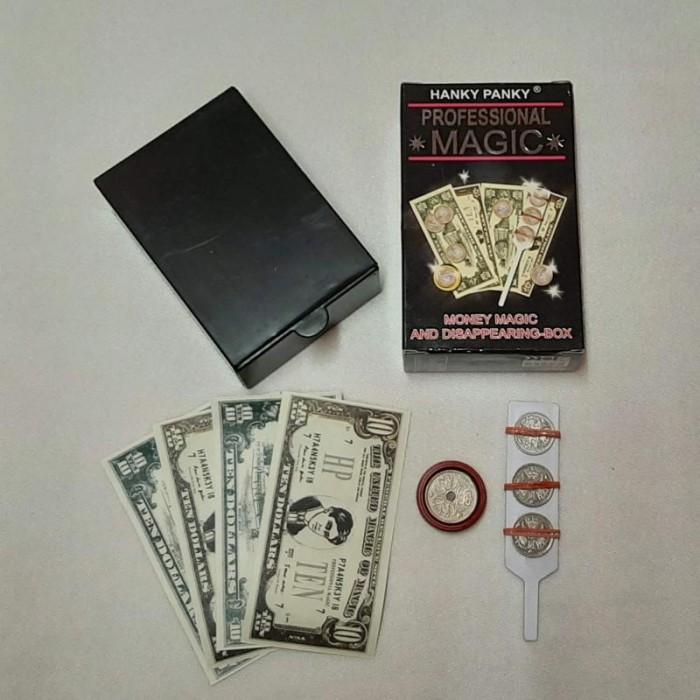 Magic set: Money Magic and Disappearing Box