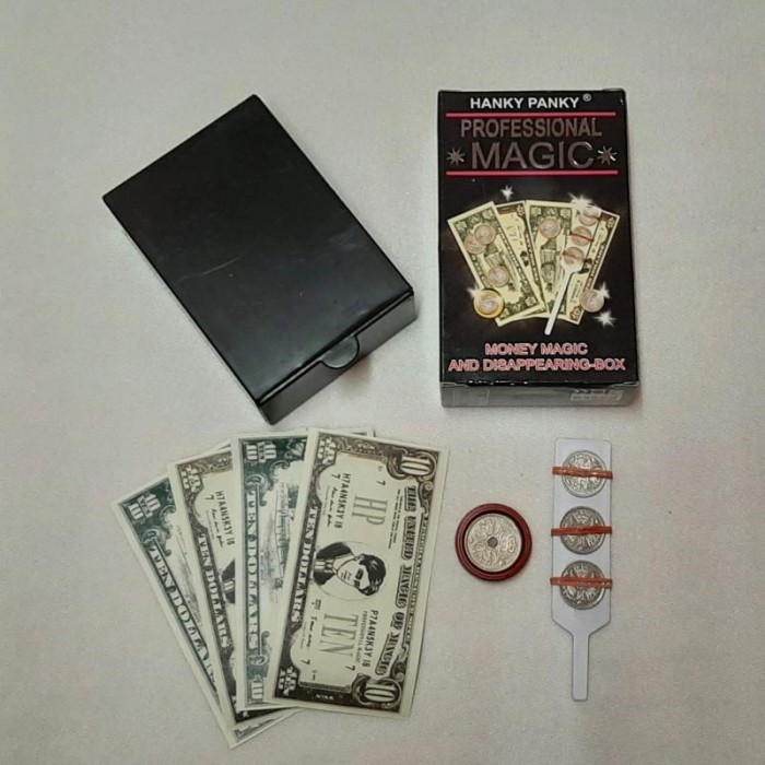 Tryllesæt: Money Magic and Disappearing Box