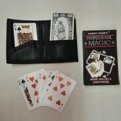 Magic set: Magic Wallet & Cardtricks