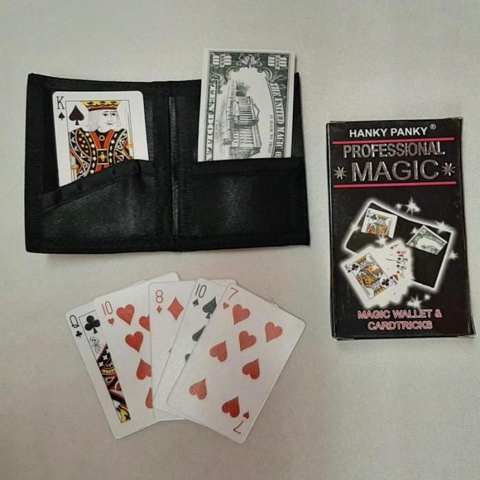 Tryllesæt: Magic Wallet & Cardtricks