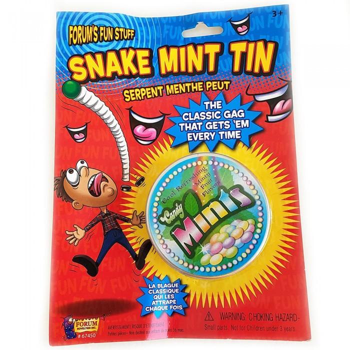 Spring Snake Candy Mint Tin