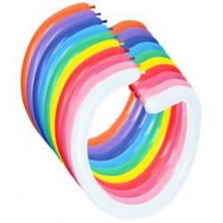 Figurballoner 260 - blandede farver