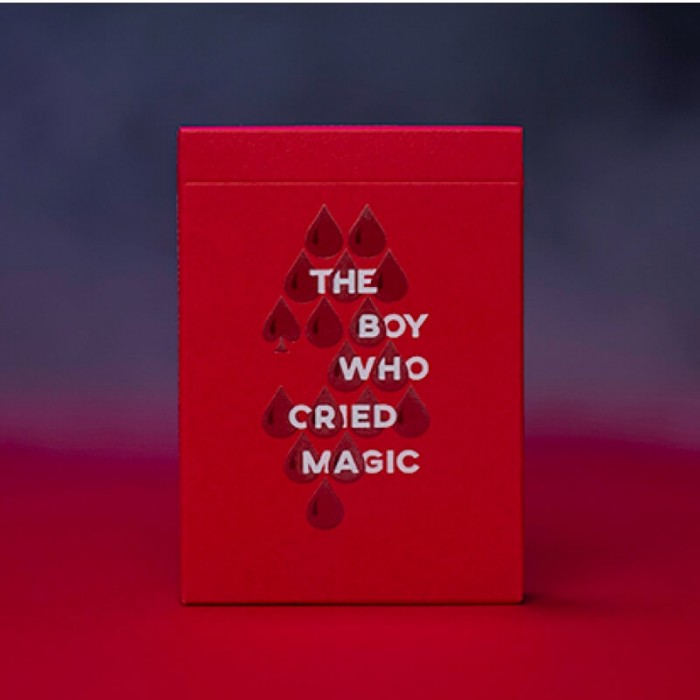 The Boy Who Cried Magic Playing Cards - Andi Gladwin