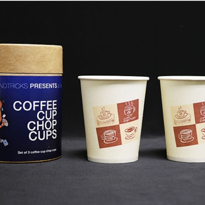 Coffee Cup Chop Cup (Cups only) - Leo Smetsers